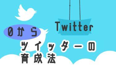 【SNSマーケ】ツイッター0からのアカウントの育て方!ツイッター育成のオススメ法